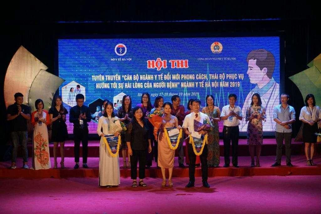 Trung tâm Kiểm soát bệnh tật Thành phố Hà Nội đạt giải Nhì hội thi do Ngành Y tế tổ chức 8