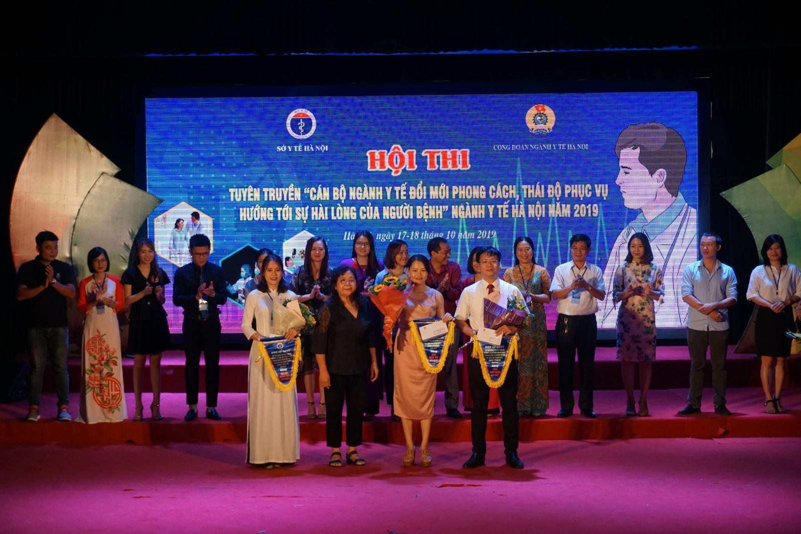 Trung tâm Kiểm soát bệnh tật Thành phố Hà Nội đạt giải Nhì hội thi do Ngành Y tế tổ chức 7
