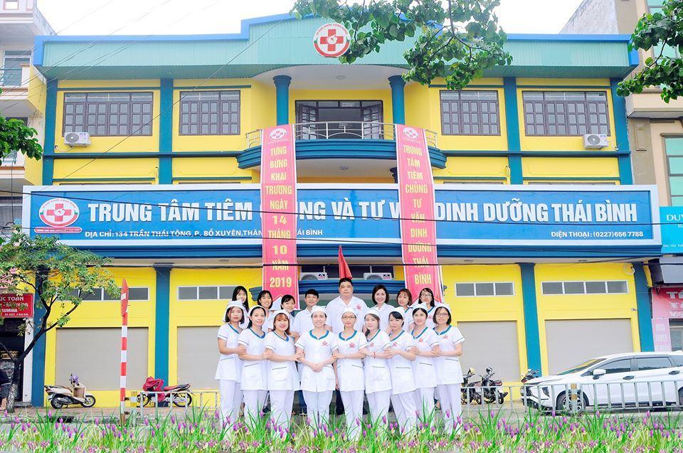 Khai trương Trung tâm Tiêm chủng Vắc xin và Tư vấn Dinh dưỡng Thái Bình, không cần đi xa xôi để tiêm cho bé nữa 11