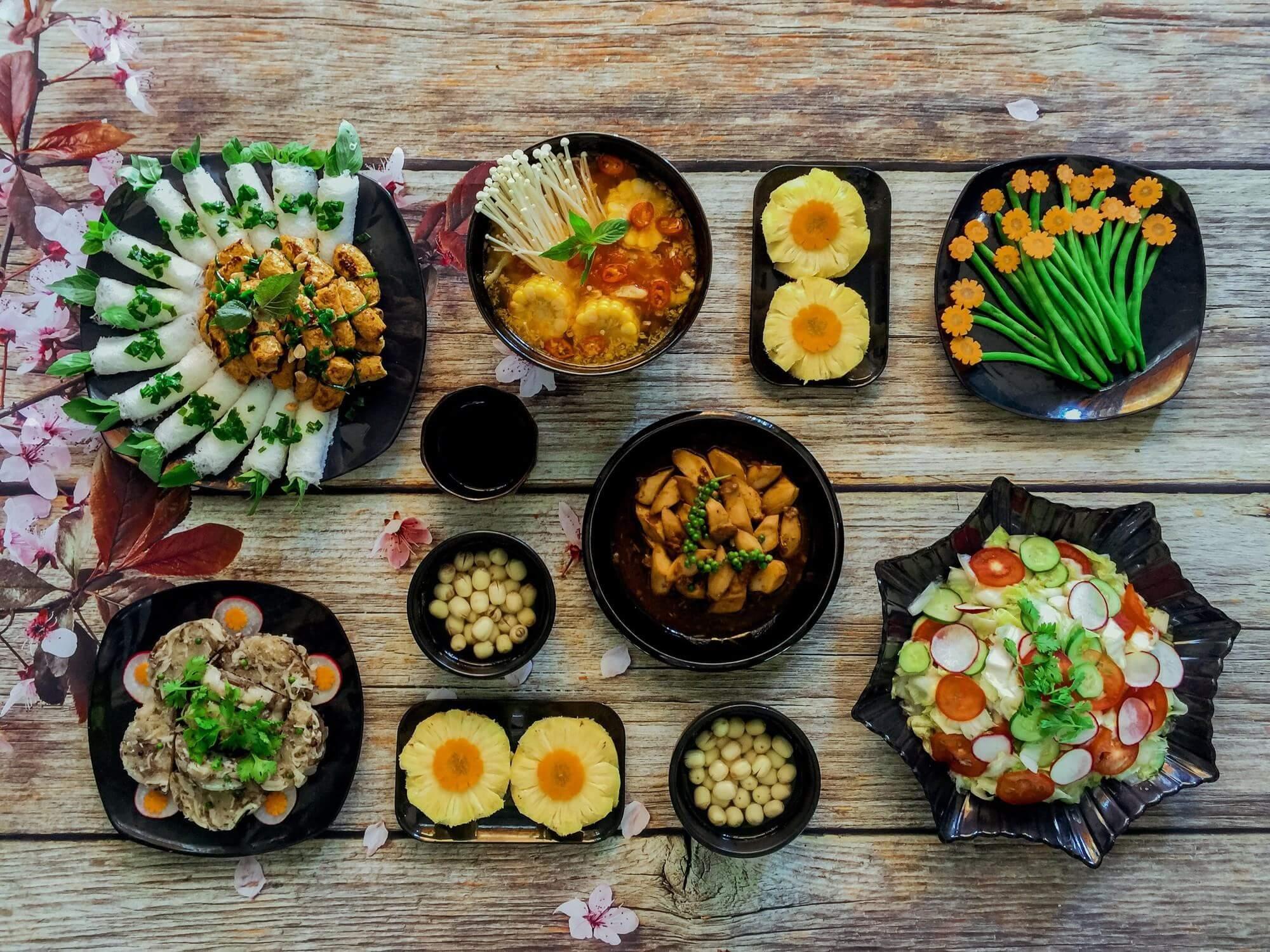 cách nấu các món chay ngon