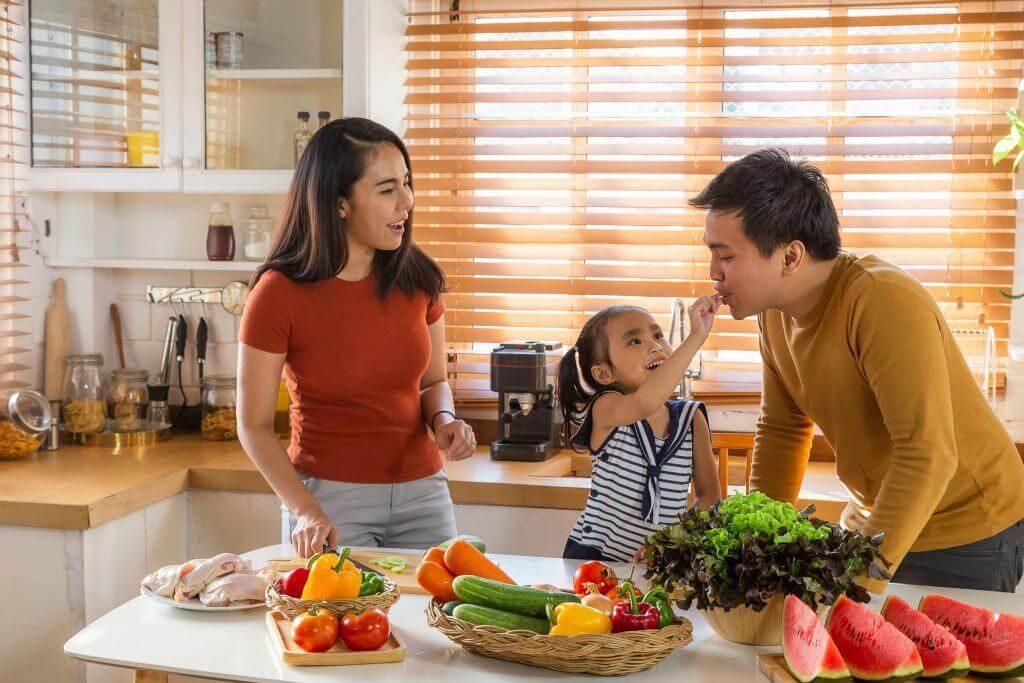 mâm cơm gia đình