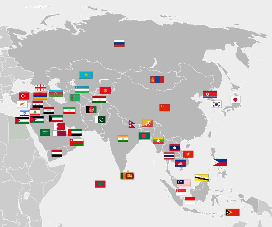 các quốc gia trên thế giới