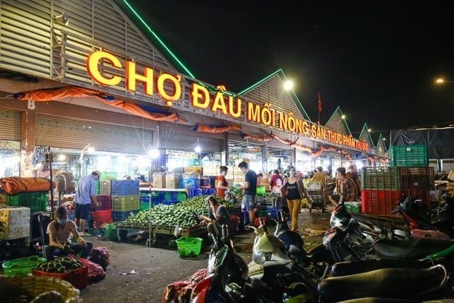 Điểm trung chuyển ở chợ Bình Điền mở cửa lại từ ngày 7/9 6