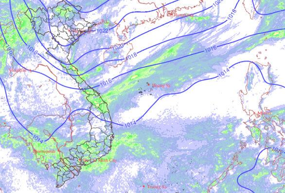 Từ hôm nay 22-10, miền Trung mưa to, mưa dông, miền Bắc có nơi mưa đá 4